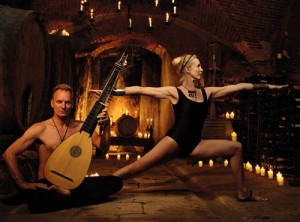 Sting and Trudie Styler, Apollo and High Priestess, Both Libras