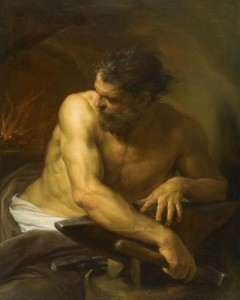 819px-Pompeo_Batoni,-_Vulcan_in_his_Forge,1750
