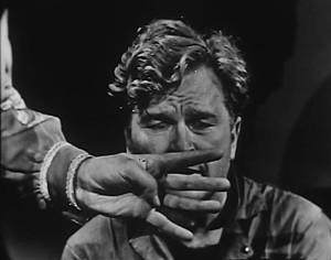 Eddie Albert in teleplay production of Orwell's 1984